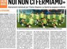Il Corriere Adriatico parla dell'Osimo Stazione Conero Dribbling