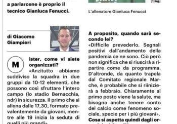 Parlano di noi: mister Fenucci ospite al Resto del Carlino