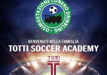 L'OSCD ha scelto la strada: ufficiale l'affiliazione alla Totti Soccer School